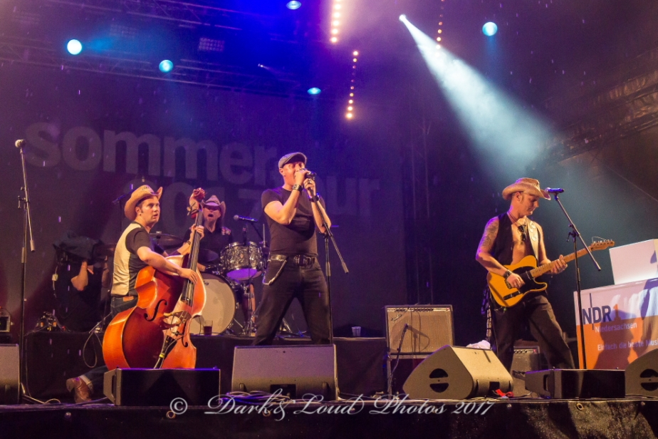 The Smashing Piccadillys, Wilhelmshaven, NDR Sommertour,29.07.2017