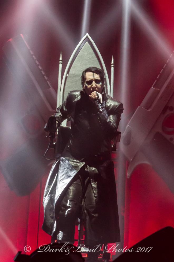 Marilyn Manson, Hamburg, Sporthalle,16.11.2017