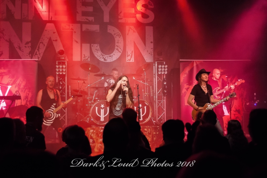 Nine Eyes Nation, Nordenham, Jahnhalle, 17.11.2018